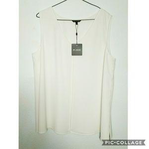 ST JOHN Women's Sleeveless Blouse XL